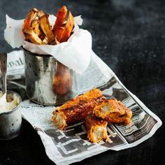 Sydänmerkki / Elina Himanen Fish And Chips, Tandoori Chicken, Turkey, Meat, Ethnic Recipes, Food, Turkey Country, Essen, Meals
