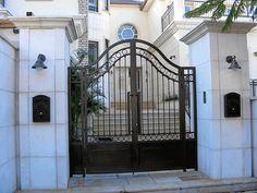 עיצוב שערים חשמליים מברזל Gate Design, Baking, Bakken, Backen, Sweets, Pastries, Roast