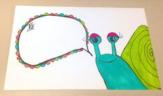 Snail Mail Envelope Art