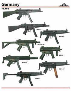 Пистолет-пулемёт Heckler&Koch MP5