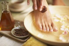 My+feet+are+just+plain+tired+from+being+tired.+I+was+on+a+mission+to+find+you+a+few+DIY+foot+scrubs+and+soaks.