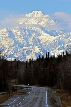 Denali from the Spur road going in to Talkeetna
