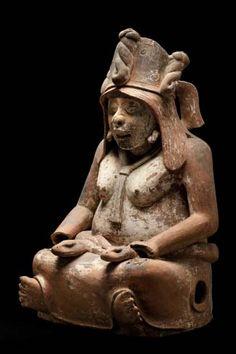 Tlazoltéotl, 200 - 900 AD - Museo Nacional de Antropología ( In Aztec mythology…