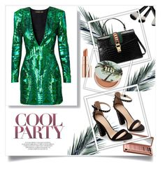 #278 by bulls-fan on Polyvore featuring polyvore fashion style Zara Gucci Urban Decay Estée Lauder Balmain clothing