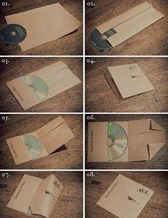 Pochette origami