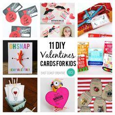 Valentine's Day DIY card round-up #valentinesday #valentinesdaycards