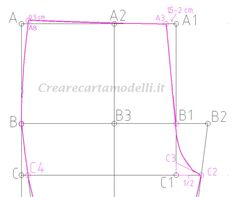 pantalone modello aderente Pants Pattern, Arts And Crafts, Sewing, Petra, Patterns, Diy, Templates, Step By Step, Flaws