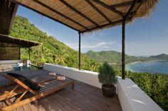 Tropical beach villa!