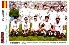 Equipos de fútbol: REAL MADRID 1950-1970