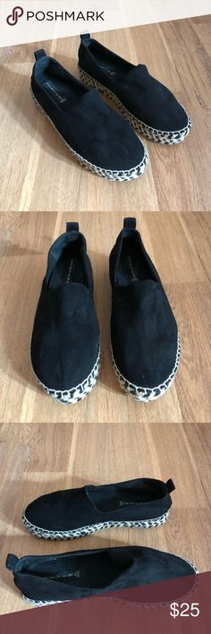 Steven by Steve Madden Espadrilles EUC...Like new trendy black espadrilles. Steven By Steve Madden Shoes Espadrilles