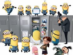 The minions are getting ready for back to school. What about you?