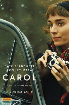 Directed by Todd Haynes. With Cate Blanchett, Rooney Mara, Sarah Paulson, Kyle Chandler. An aspiring photographer develops an intimate relationship with an older woman in New York. Cate Blanchett, Great Films, Good Movies, Movies Free, Film Movie, Rooney Mara Carol, Patricia Highsmith, Cinema Posters, Movie Posters