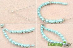 Tutorial on making your own pearl necklace