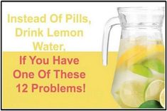 The lemon has 64% of the daily needs of vitamin C and also phytochemicals like terpenes and polyphenols. A lot of experts say that you must start ...