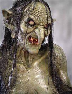 meg mucklebones #goblin. Well creepy!!! I think this is the swap lady from Legend
