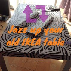 IKEA hack lack table