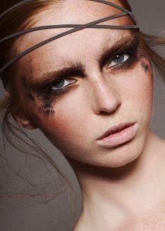 .women, beauty, natural, face, eyes, portrait, makeup