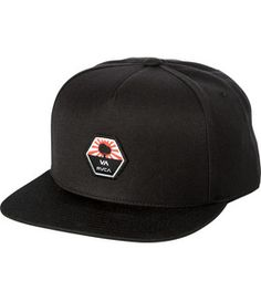 The RVCA Bruce Irons Patch Snapback is a Special Edition mid fit, darted snapback with a Bruce Irons patch at the front and a VA woven label at the back.