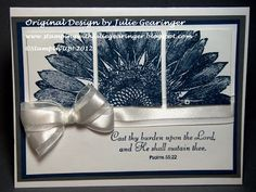 Stamping with Julie Gearinger: June 2012 Creative Crew Challenge Entries