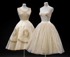 terug in de tijd met de petticoat balmain 1950