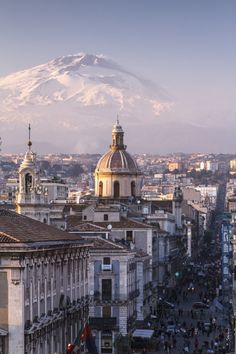 Catania and Mount Etna by antonio_violi