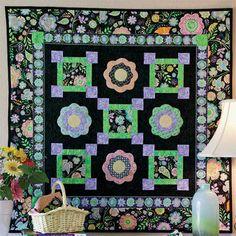 - Garden Glow Quilt Kit