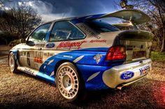 OZ Rally Wheels on Ford Escort Cosworth #OZRACING