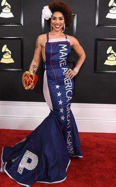Joy Villa: Grammys 2017 Red Carpet Arrivals