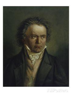 Ludwig Van Beethoven, 1816/1818 Giclee Print by Joseph Karl Stieler at AllPosters.com