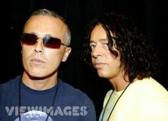 Gaaah! Curtis Smith and Roland Orzabal. I always had the hugest crush on Roland...so earnest, passionate, plus THAT VOICE.