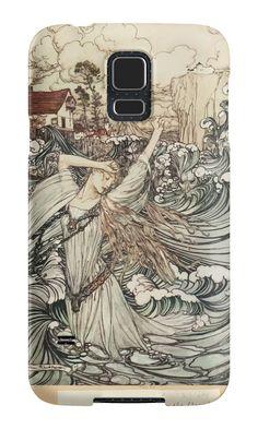 Undine by Freiherr de La Motte Frou art Arthur Rackham 1919 0153 In the Danube by wetdryvac