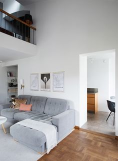 soft grey lounge