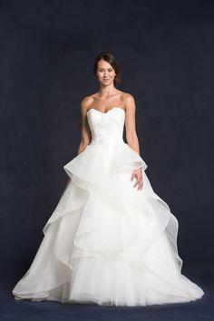 Style * GWYNETH * » Wedding Dresses » 2015 Collection » by Lis Simon » Available Colours : Diamond White/Ivory, Diamond White/White