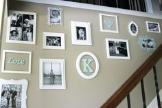 Our Journey: Family Picture Gallery LOVE this!