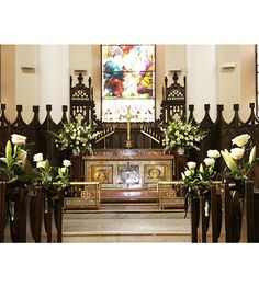 609 Best Church Wedding Decorations Images On Pinterest In 2019