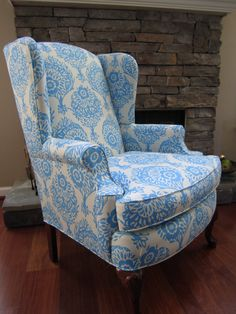 Accent Chair  Innocense by Urbanmotifs on Etsy, $450.00