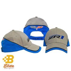 dd269a0e842 Corvette ZR-1 Supercharged Hat. Awesome colors.  24.95 with free shipping  and handling.
