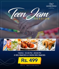 A FUN-tastic Summer escape for your children. Nataraj Sarovar Portico Jhansi is offering teen-jam session for kids. To know more, call 0510 233