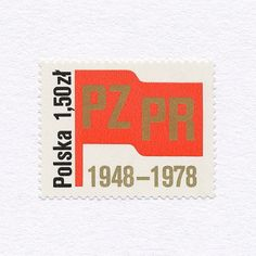 30th PZPR Anniversary (1,50zł). Poland, 1978. Design: Unknown. #mnh #graphilately