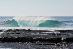 ocean, wave, barrel, bodyboard