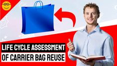 Life Cycle Assessment of Carrier Bag Reuse - Which is Best? Life Cycle Assessment, Plastic Carrier Bags, Environment Agency, Weight Bags, Environmental Protection Agency, Plastic Grocery Bags, Life Questions, Reusable Shopping Bags, Plastic Waste