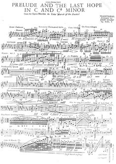 Prelude and the Last Hope in C and C# Minor