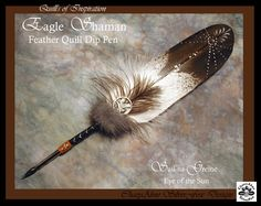 EAGLE SHAMAN Feather Pen by ChaeyAhne on deviantArt