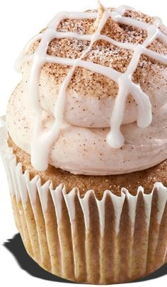 ♔ Cinnamon Role Cupcake