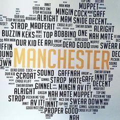 Manchester Slang, Manchester Love, Manchester City Centre, London Slang, Inc Logo, I Love Mcr, British Things, Northern England, Salford