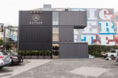 A Loja Container de Luxo: Aether