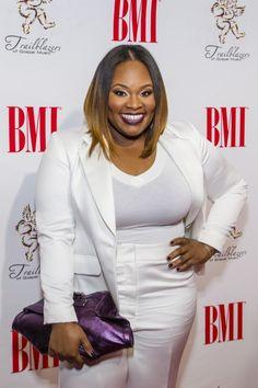 Tasha Cobbs arrives at the 16th Annual BMI Trailblazers of Gospel Music Awards, held January 17 in Atlanta.