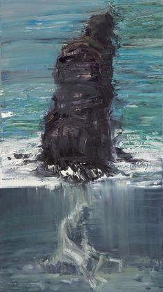 Euan Macleod - Seated Below Rock Pillar