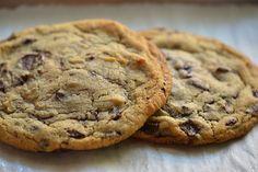 2 big chocolate chip cookies