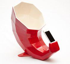 Phonógrafo rojo